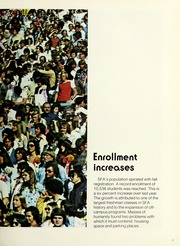 Page 11, 1975 Edition, Stephen F Austin State University - Stone Fort Yearbook (Nacogdoches, TX) online yearbook collection
