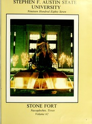 Page 5, 1987 Edition, Stephen F Austin State University - Stone Fort Yearbook (Nacogdoches, TX) online yearbook collection