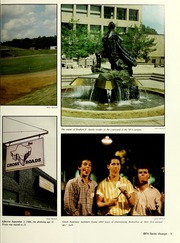 Page 9, 1987 Edition, Stephen F Austin State University - Stone Fort Yearbook (Nacogdoches, TX) online yearbook collection