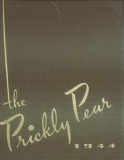 Abilene Christian College - Prickly Pear Yearbook (Abilene, TX) online yearbook collection, 1944 Edition, Page 1