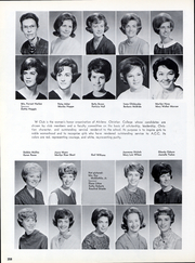 Page 261, 1966 Edition, Abilene Christian College - Prickly Pear Yearbook (Abilene, TX) online yearbook collection