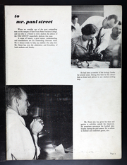 Page 9, 1952 Edition, East Texas State University - Locust Yearbook (Commerce, TX) online yearbook collection