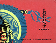 1961 Edition, East Texas State University - Locust Yearbook (Commerce, TX)