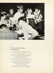 Page 16, 1970 Edition, East Texas State University - Locust Yearbook (Commerce, TX) online yearbook collection