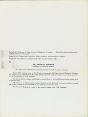 Page 9, 1958 Edition, University of Texas at El Paso - Flowsheet Yearbook (El Paso, TX) online yearbook collection