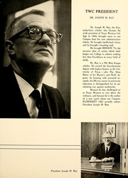 Page 13, 1965 Edition, University of Texas at El Paso - Flowsheet Yearbook (El Paso, TX) online yearbook collection