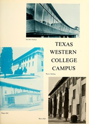 Page 15, 1965 Edition, University of Texas at El Paso - Flowsheet Yearbook (El Paso, TX) online yearbook collection
