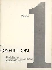 Page 5, 1968 Edition, Tarrant County College - Carillon Yearbook (Fort Worth, TX) online yearbook collection