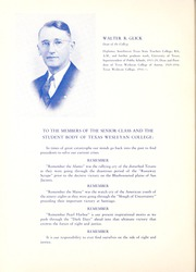 Page 12, 1942 Edition, Texas Wesleyan University - Txweco Yearbook (Fort Worth, TX) online yearbook collection