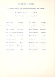 Page 14, 1942 Edition, Texas Wesleyan University - Txweco Yearbook (Fort Worth, TX) online yearbook collection