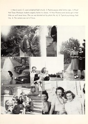Page 161, 1943 Edition, Texas Wesleyan University - Txweco Yearbook (Fort Worth, TX) online yearbook collection