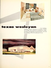 Page 11, 1957 Edition, Texas Wesleyan University - Txweco Yearbook (Fort Worth, TX) online yearbook collection