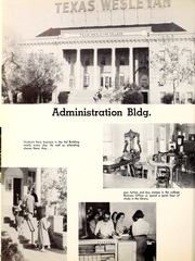 Page 12, 1957 Edition, Texas Wesleyan University - Txweco Yearbook (Fort Worth, TX) online yearbook collection
