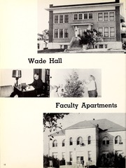 Page 16, 1957 Edition, Texas Wesleyan University - Txweco Yearbook (Fort Worth, TX) online yearbook collection