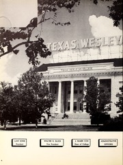 Page 8, 1957 Edition, Texas Wesleyan University - Txweco Yearbook (Fort Worth, TX) online yearbook collection