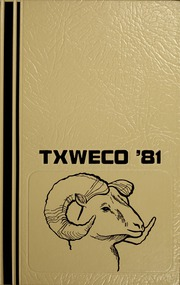 Page 1, 1981 Edition, Texas Wesleyan University - Txweco Yearbook (Fort Worth, TX) online yearbook collection