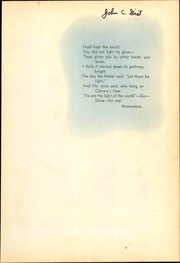 Page 5, 1949 Edition, Southwestern Adventist University - Mizpah Yearbook (Keene, TX) online yearbook collection
