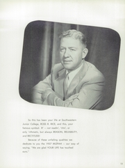 Page 17, 1957 Edition, Southwestern Adventist University - Mizpah Yearbook (Keene, TX) online yearbook collection