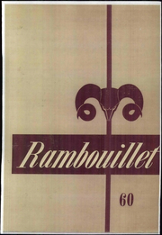 Angelo State University - Rambouillet Yearbook (San Angelo, TX) online yearbook collection, 1960 Edition, Page 1