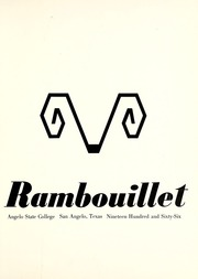 Page 5, 1966 Edition, Angelo State University - Rambouillet Yearbook (San Angelo, TX) online yearbook collection