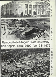 Page 7, 1979 Edition, Angelo State University - Rambouillet Yearbook (San Angelo, TX) online yearbook collection