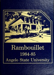 Angelo State University - Rambouillet Yearbook (San Angelo, TX) online yearbook collection, 1985 Edition, Page 1