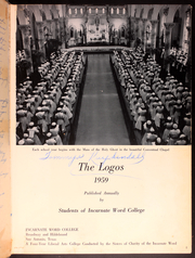 Page 5, 1959 Edition, University of the Incarnate Word - Logos Yearbook (San Antonio, TX) online yearbook collection