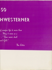 Page 7, 1950 Edition, Southwestern Assemblies of God University - Southwesterner Yearbook (Waxahachie, TX) online yearbook collection