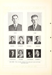 Page 16, 1923 Edition, Weatherford College - Oak Leaf Yearbook (Weatherford, TX) online yearbook collection