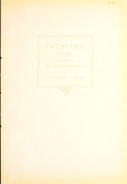 Page 9, 1923 Edition, Weatherford College - Oak Leaf Yearbook (Weatherford, TX) online yearbook collection