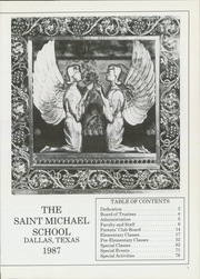 Page 5, 1987 Edition, St Michael School - Yearbook (Dallas, TX) online yearbook collection