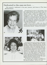Page 6, 1987 Edition, St Michael School - Yearbook (Dallas, TX) online yearbook collection