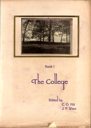 Page 11, 1919 Edition, East Texas Baptist University - Martian Yearbook (Marshall, TX) online yearbook collection