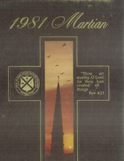 1981 Edition, East Texas Baptist University - Martian Yearbook (Marshall, TX)