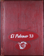 Page 1, 1953 Edition, Runnels Junior High School - El Palomar Yearbook (Big Spring, TX) online yearbook collection