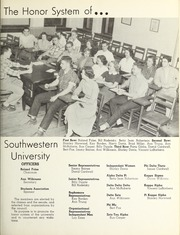 Page 15, 1953 Edition, Southwestern University - Souwester Yearbook (Georgetown, TX) online yearbook collection