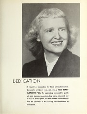 Page 7, 1953 Edition, Southwestern University - Souwester Yearbook (Georgetown, TX) online yearbook collection