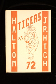 Page 1, 1972 Edition, Haltom Junior High School - Tigers Yearbook (Haltom City, TX) online yearbook collection