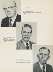 Page 17, 1953 Edition, Jacksonville College - Guiding Light Yearbook (Jacksonville, TX) online yearbook collection