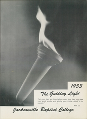 Page 7, 1953 Edition, Jacksonville College - Guiding Light Yearbook (Jacksonville, TX) online yearbook collection