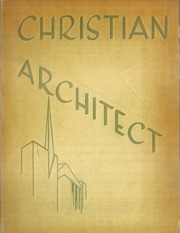 1957 Edition, Texas Tech University Bible Chair - Christian Architect Yearbook (Lubbock, TX)