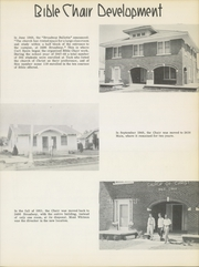 Page 17, 1957 Edition, Texas Tech University Bible Chair - Christian Architect Yearbook (Lubbock, TX) online yearbook collection