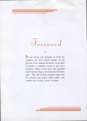 Page 7, 1950 Edition, Fairfax Hall High School - Chain and Anchors Yearbook (Waynesboro, VA) online yearbook collection