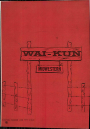 Page 1, 1958 Edition, Midwestern State University - Wai Kun Yearbook (Wichita Falls, TX) online yearbook collection