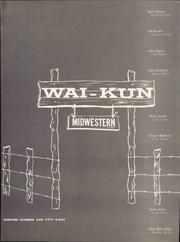 Page 9, 1958 Edition, Midwestern State University - Wai Kun Yearbook (Wichita Falls, TX) online yearbook collection
