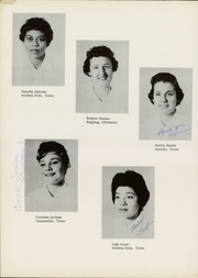 Page 12, 1960 Edition, Wichita General Hospital School of Nursing - Scroll Yearbook (Wichita Falls, TX) online yearbook collection