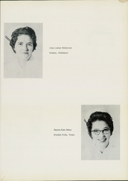 Page 17, 1960 Edition, Wichita General Hospital School of Nursing - Scroll Yearbook (Wichita Falls, TX) online yearbook collection