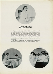 Page 7, 1960 Edition, Wichita General Hospital School of Nursing - Scroll Yearbook (Wichita Falls, TX) online yearbook collection