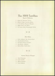 Page 13, 1919 Edition, Terrill Preparatory School - Terrillian Yearbook (Dallas, TX) online yearbook collection