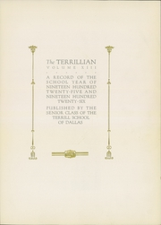Page 7, 1926 Edition, Terrill Preparatory School - Terrillian Yearbook (Dallas, TX) online yearbook collection